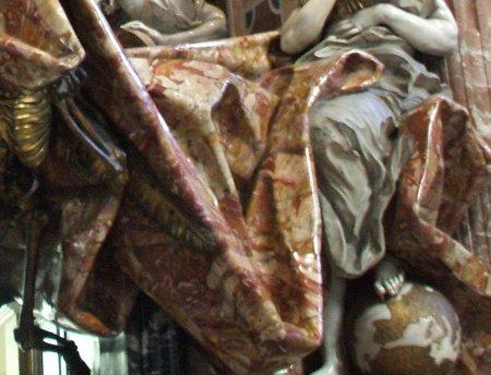 bernini, sepulcro de alejandro VII, la espina de la iglesia