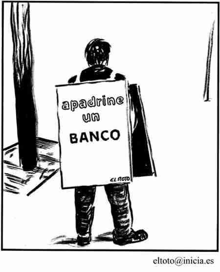 pobre banco