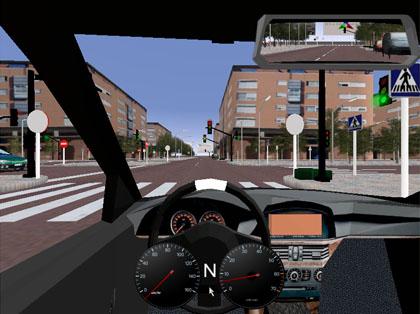 videojuego simulador de examen de conducción