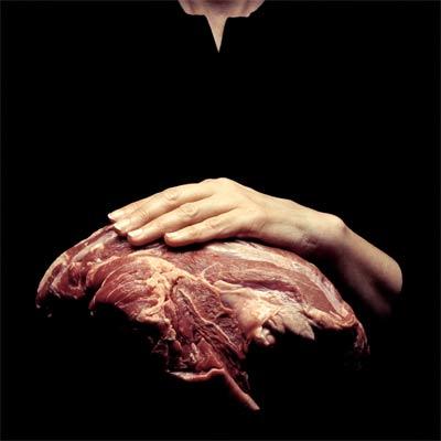 el mundo un trozo de carne fresca para algunos