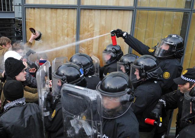 manifestaciones en Islandia