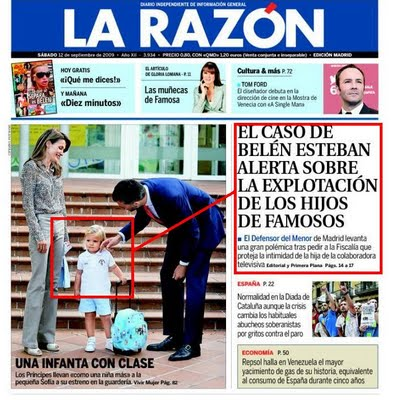 La Razon portada polémica