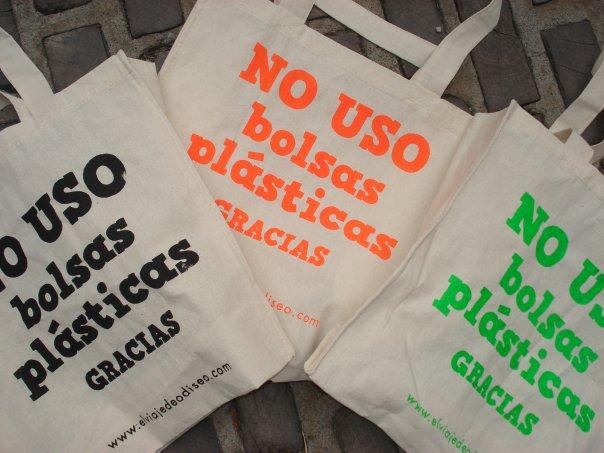 boicot a las bolsas de plástico