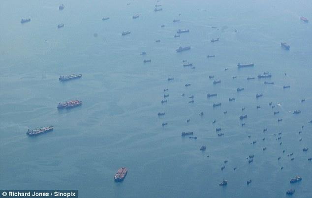 flota comercial fantasma