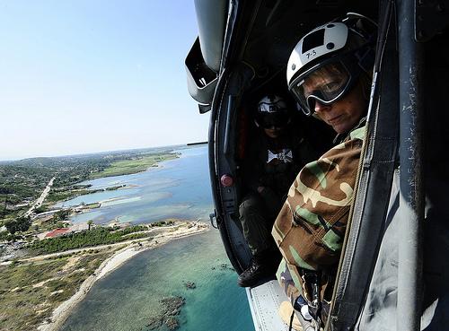 Soldados de USA en Haiti