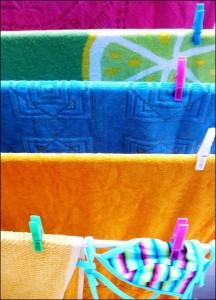 Secar ropa al sol - Ahorrar energia