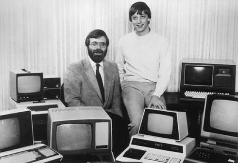 Bill Gates de Joven