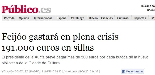 Corrupción España 2010