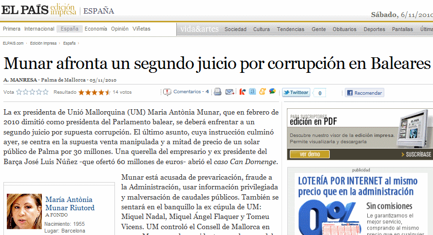 Corrupcion en Baleares